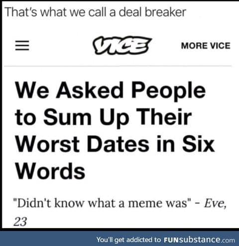 Worst date