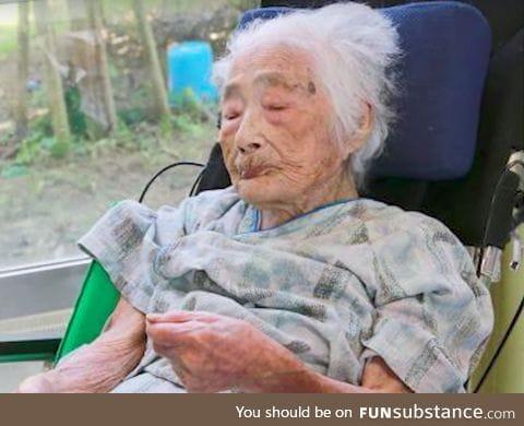 Nabi Tajima, the last surviving person born in the 19th century, just died at age 117
