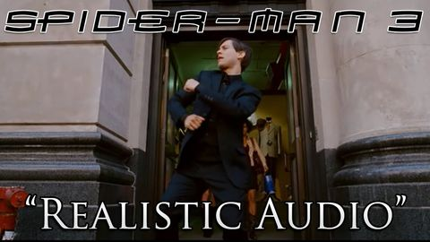 "Spider-Man 3 Dance Scene with ""Realistic"" Audio. Yes it is as awesome as it sounds"