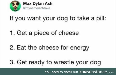 Survival tip
