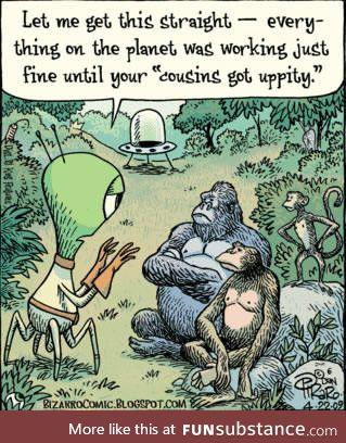 Dam dirty apes