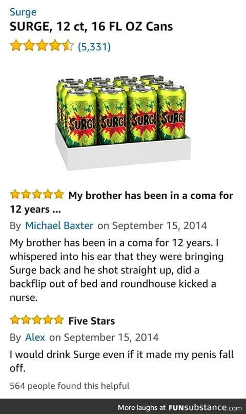 Surge review