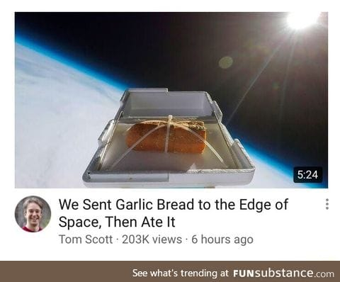 We did it because of science