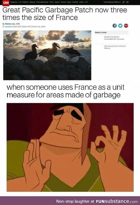 France for garbage