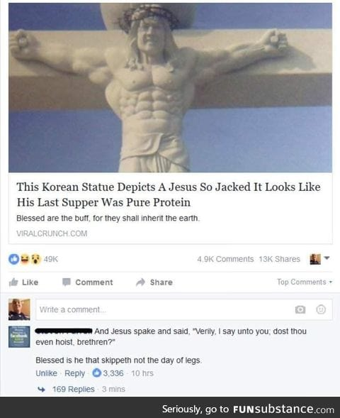 Everyone knows our supreme leader, Kim Jon Um, created Jesus!