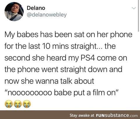 It's like she's doing it on purpose