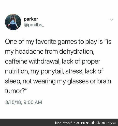 What to do against headache?