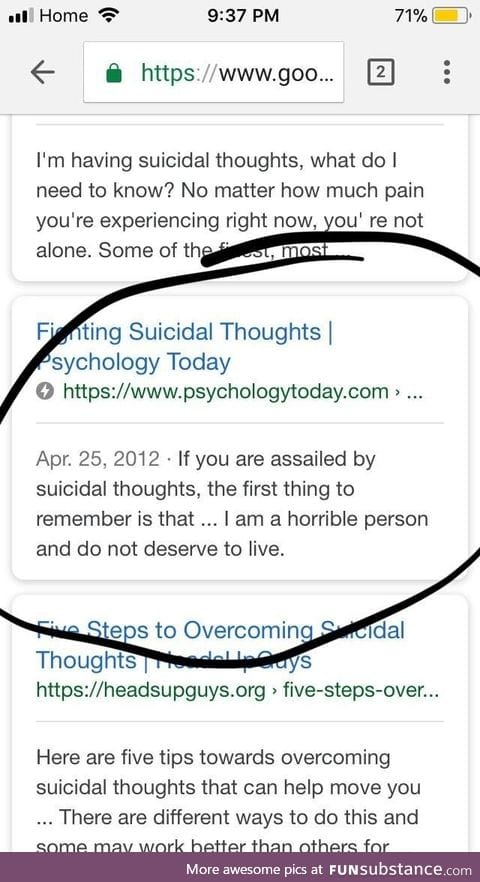 What to remember if you're feeling suicidal