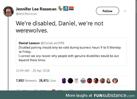 Actually after 5, wheelchairs turns into mountain lions