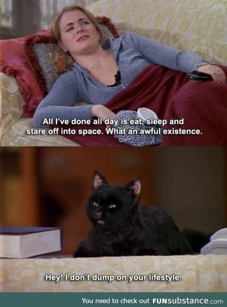 I sound like a cat