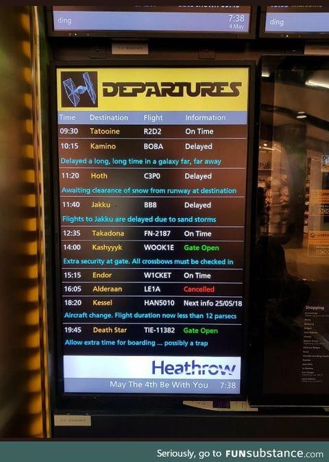 Well done Heathrow