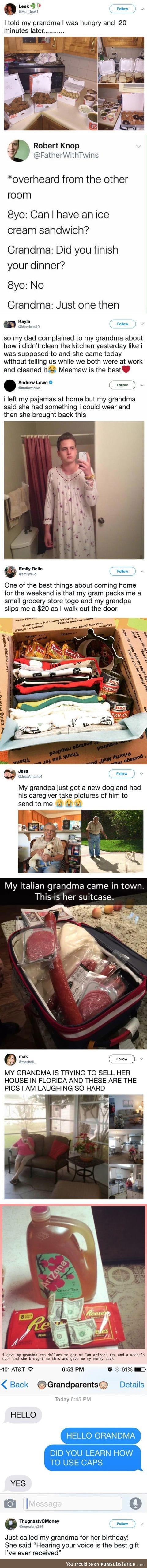 A tribute to grandmas everywhere