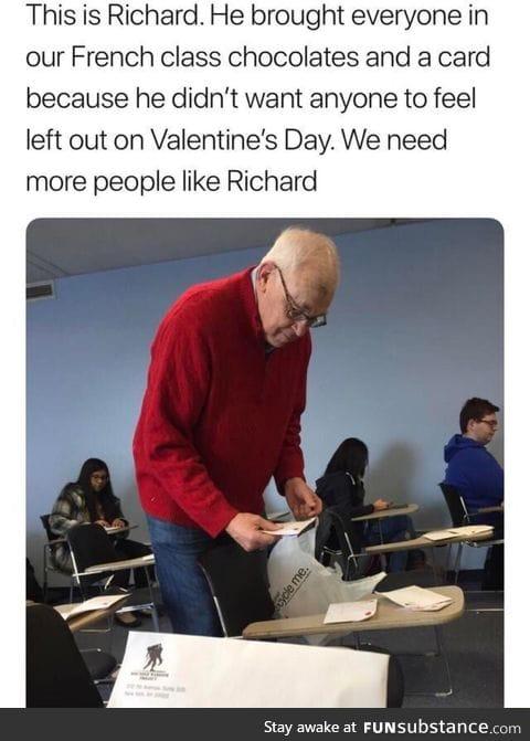 Good guy Richard