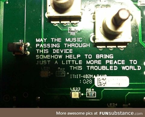 Found on a guitar pedal circuit board