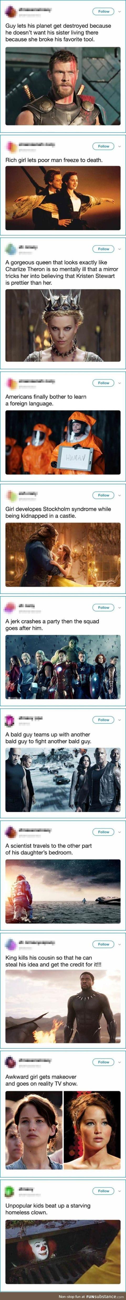 Movie plots