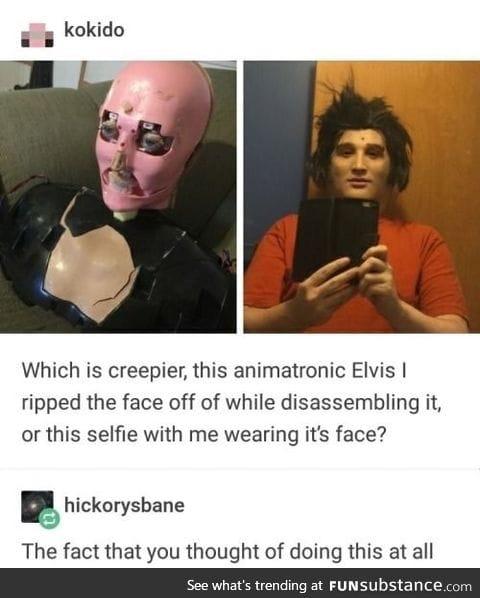 I'm terrified