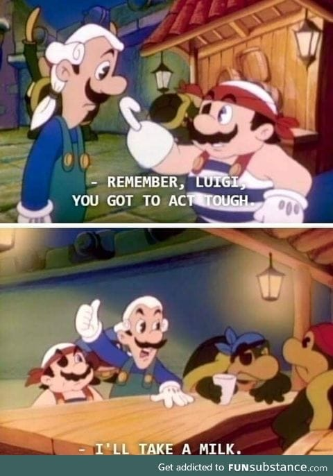Tough Luigi