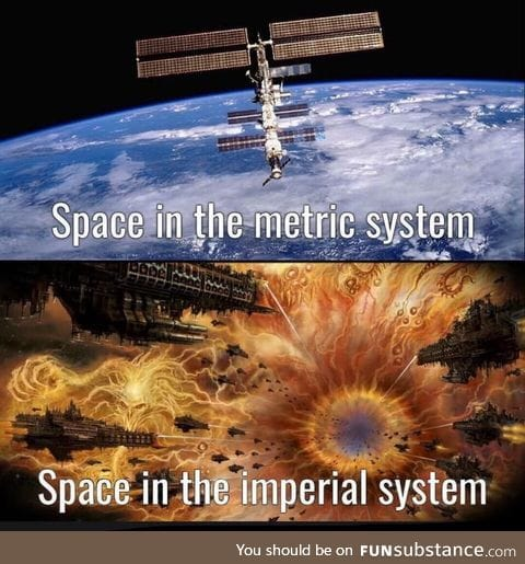 The only time the imperial system is cool