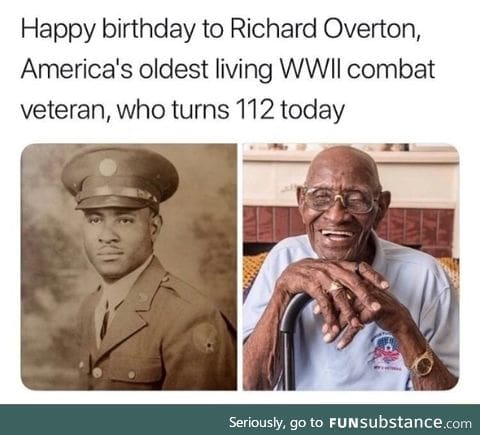 Oldest WWII vet