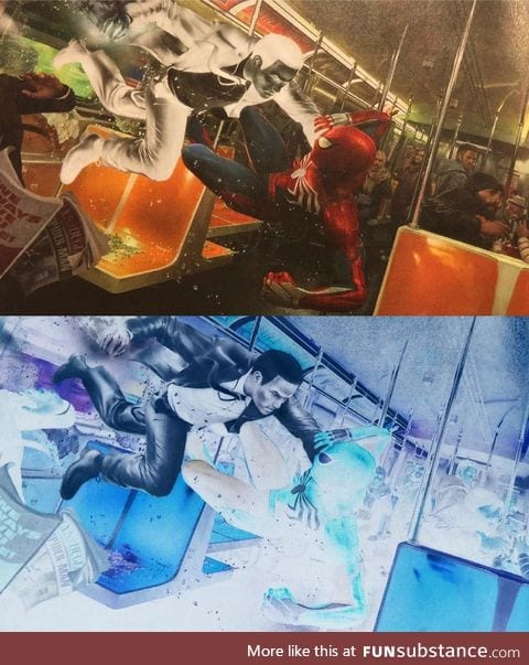 Interesting look at Mr.Negative in Spiderman