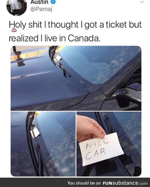 Canada though