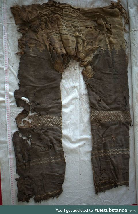 A 3000 year old pair of pants