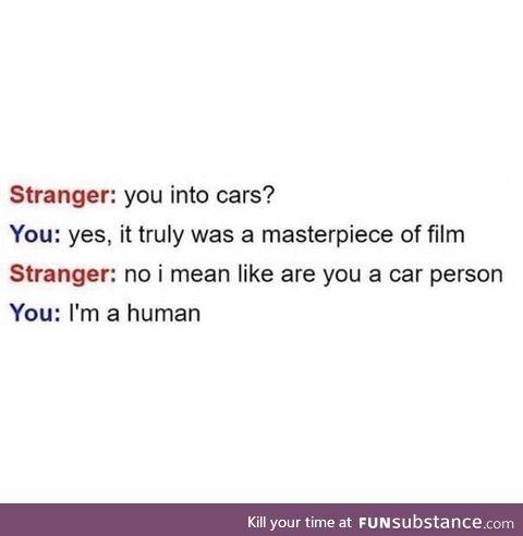 Im a human