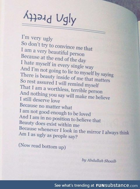 Whoever wrote this poem is an genius