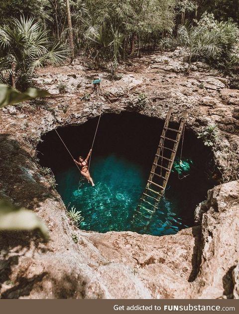 Cenotes in Tulum, Mexico