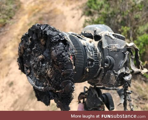 Remote Camera Melted from SpaceX Falcon 9 Rocket Launch