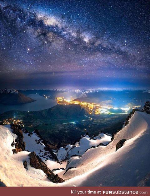 Evening sight seeing ~ New Zealand
