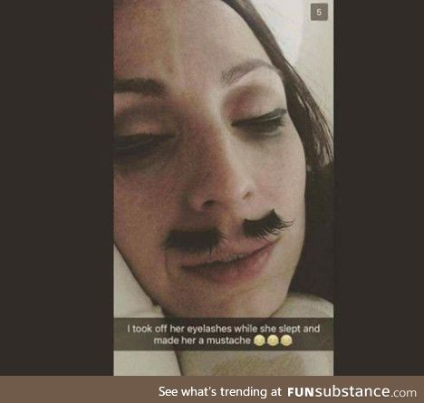 A Mustache is Just Eyebrows for the Lips