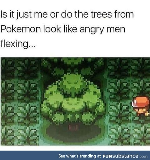 Trees be flexing