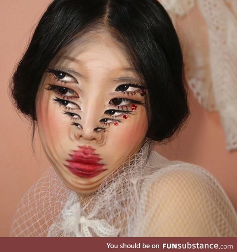 Illusion makeup artist dain yoon