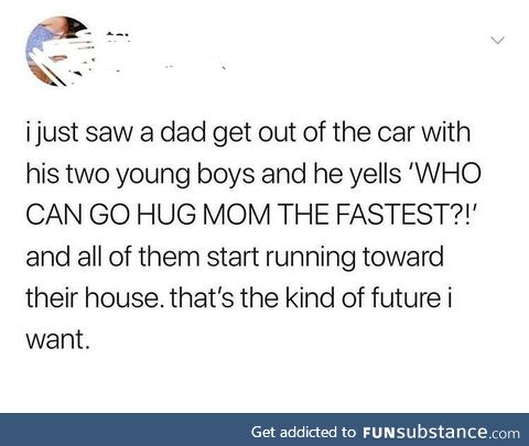 Wholesome dad