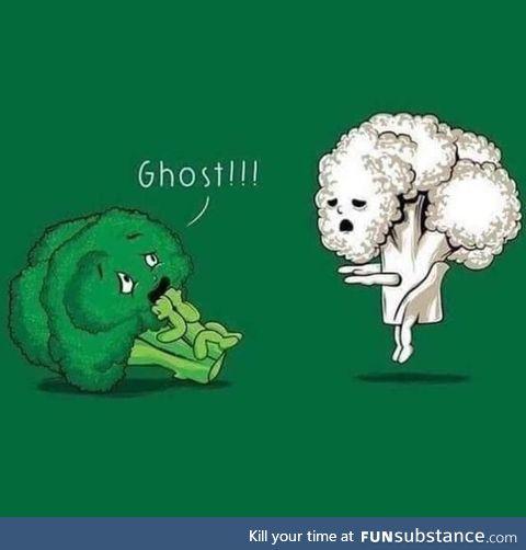 Haunted vegetable