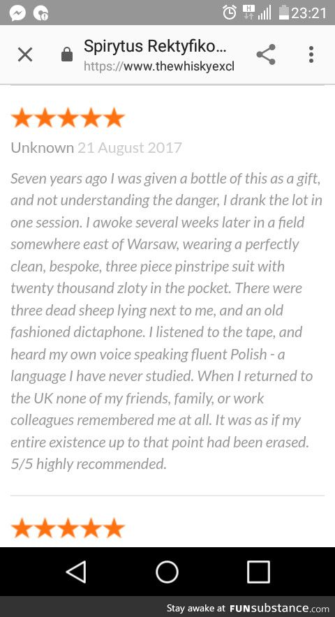 This vodka review