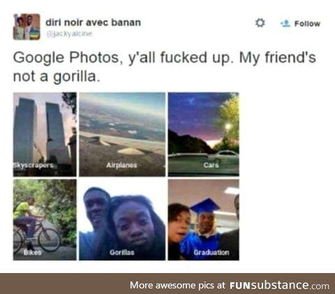 Insert *that's racist*  GIF