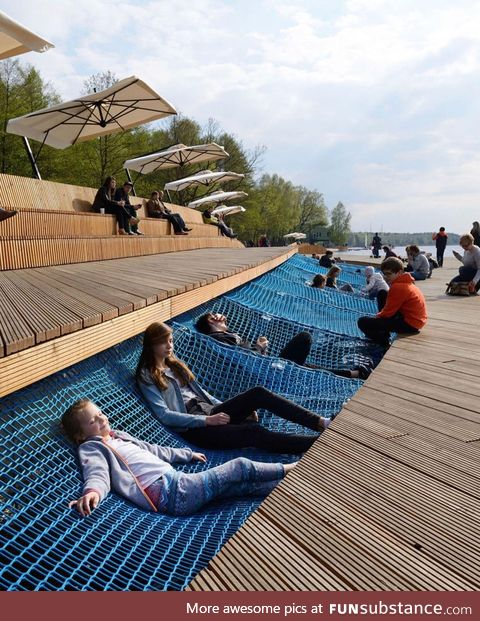 This hangout area