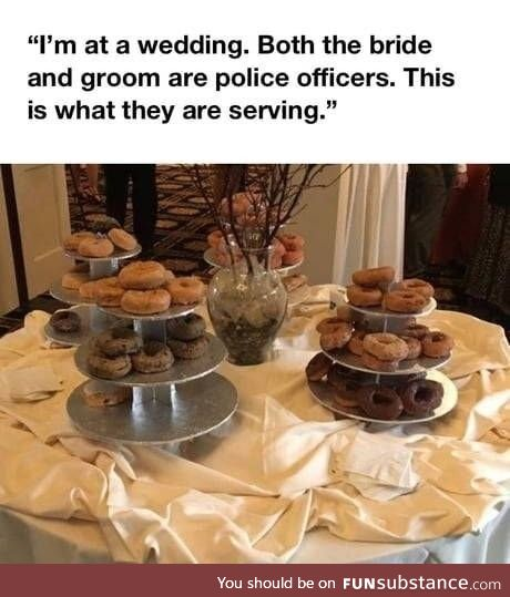 Police getting married