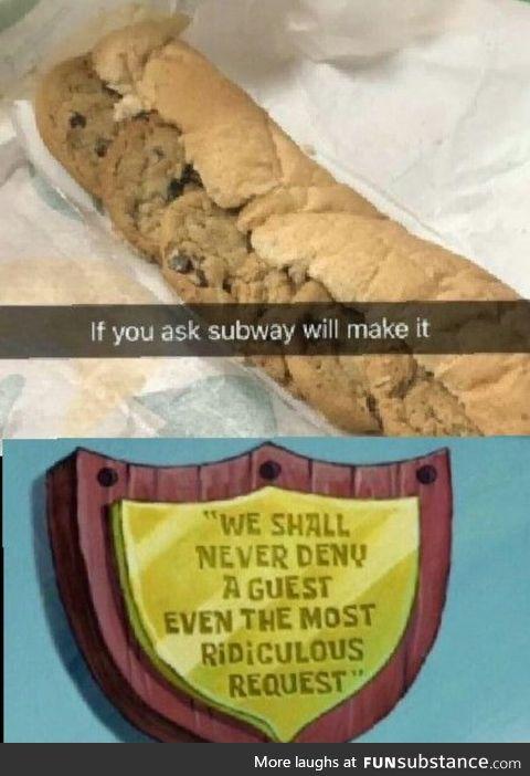 Ridiculous request