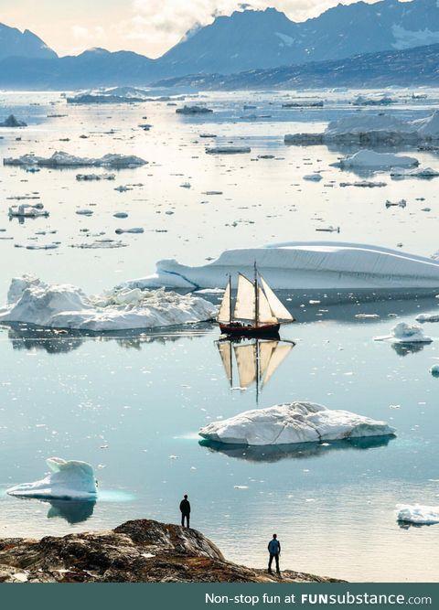 Summer Sailing in Greenland