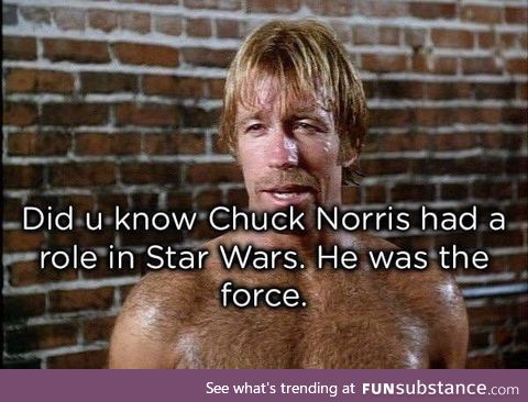 What's your best Chuck Norris fact?