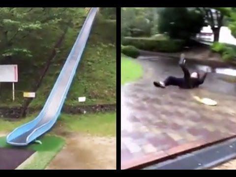 This slide in Japan o_O