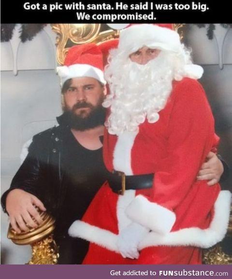 Santa needs more fat