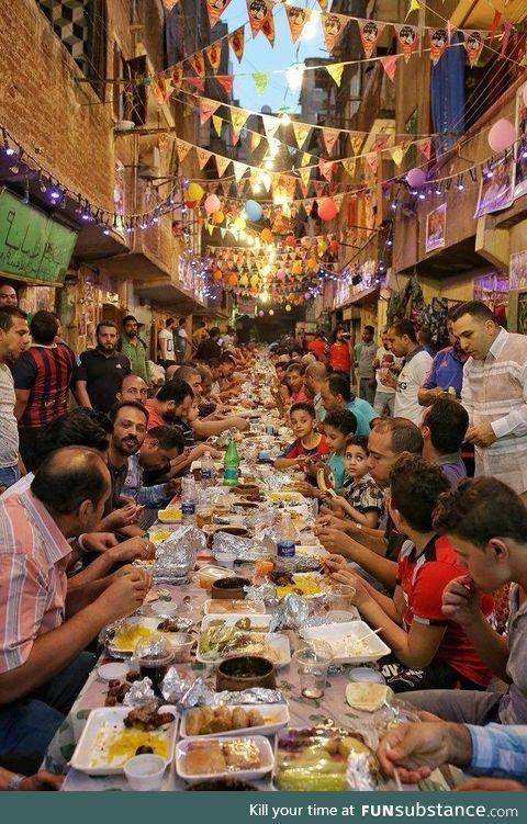 Ramadan Iftar in Cairo, Egypt