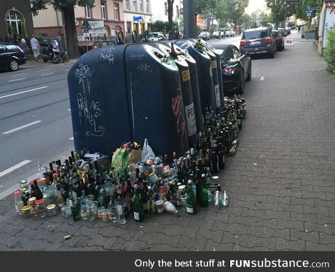After a house party in Germany