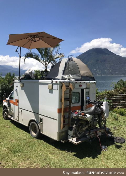 Traveling the world in an Ambulance