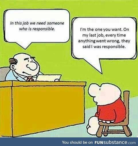 Hiring a responsible person