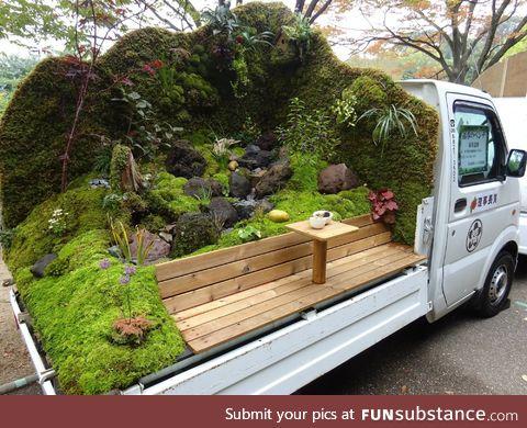 Japanese portable garden truck